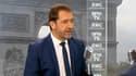 Christophe Castaner lundi matin sur BFMTV et RMC.