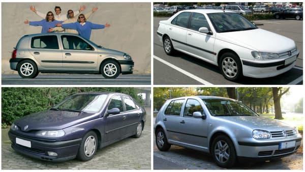 La Renault Clio 2, la première Laguna, la Peugeot 406 et la Golf 4 complètent le top 5 des véhicules diesel mis e 2001 en Ile-de-France