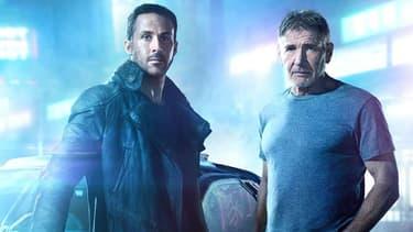 """Ryan Gosling et Harrison Ford dans """"Blade Runner 2049"""""""