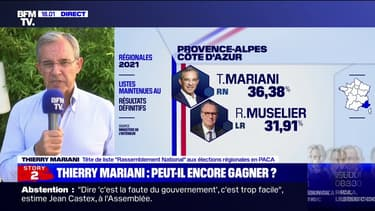 """Thierry Mariani sur les élections en PACA: """"La participation a été basse, trop basse"""""""