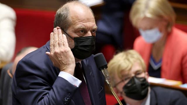 Le garde des Sceaux, Eric Dupond-Moretti, le 18 mai 2021 à l'Assemblée nationale