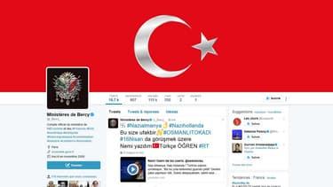 Le compte Twitter du ministère de l'Economie ce matin à 7h45