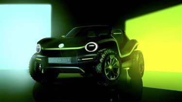 Un futur buggy électrique en préparation chez Volkswagen? La marque allemande présentera en tout cas ce concept au salon de Genève, début mars.