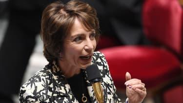 Marisol Touraine, lors des questions au gouvernement, le 14 octobre 2014.