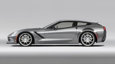 Cette Corvette modifiée a une allure folle en break. Pour 15.000 euros, Callaway se propose d'appliquer ce kit à tous les modèles à toit rigide.