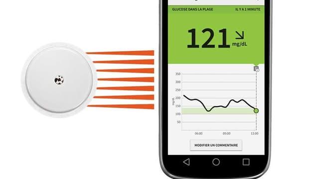 L'application FreeStyle LibreLink permet à des patients diabétiques de mesurer leur taux de sucre.