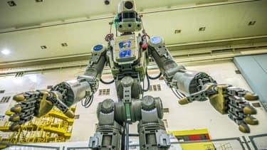 Le robot Fedor., ici photographié en juillet 2019.