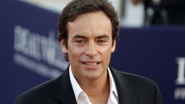 Anthony Delon lors du Festival du film de Deauville, en 2010.