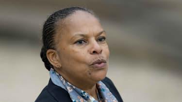 """""""Parfois résister c'est rester, parfois résister c'est partir"""": c'est en ces termes que Christiane Taubira a expliqué mercredi sa démission du gouvernement - 27 janvier 2016"""