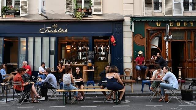 Des terrasses dans le 9e arrondissement de Paris