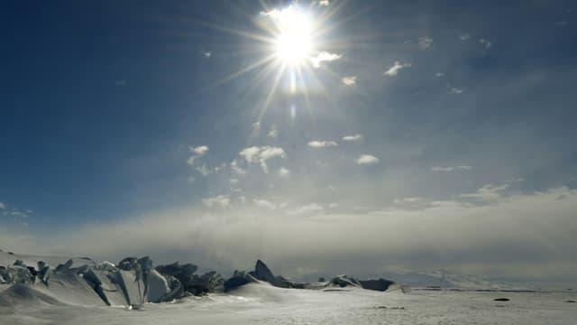 Une vue de l'Antarctique en novembre 2016
