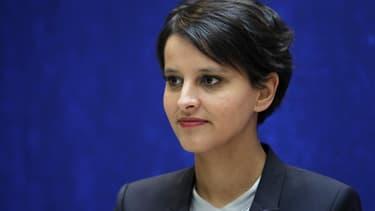 La ministre du Droit des femmes Najat Vallaud-Belkacem explique dans le JDD qu'elle veut rendre illégal le recours à des prostituées en France. A l'heure actuelle, seuls le proxénétisme et la traite des êtres humains sont réprimés par la loi. /Photo prise