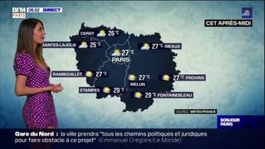 Météo: une journée lumineuse mais nuageuse en Ile-de-France, des températures en hausse avec 27°C à Paris