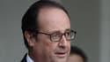 François Hollande et Manuel Valls à la sortie de l'Elysée le 28 septembre dernier.