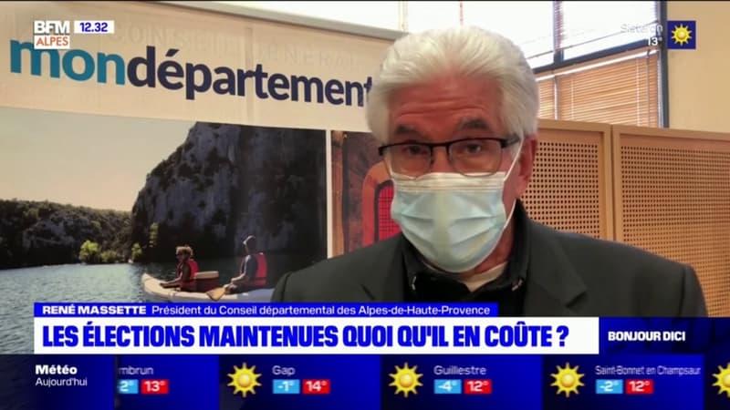 Départementales et régionales: le président des Alpes-de-Haute-Provence craint une participation