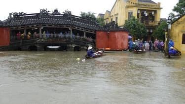 Le Vietnam touché par un typhon