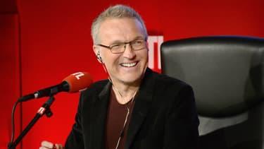 Laurent Ruquier dans les studios de RTL (2015)