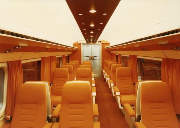 Première classe du prototype du TGV