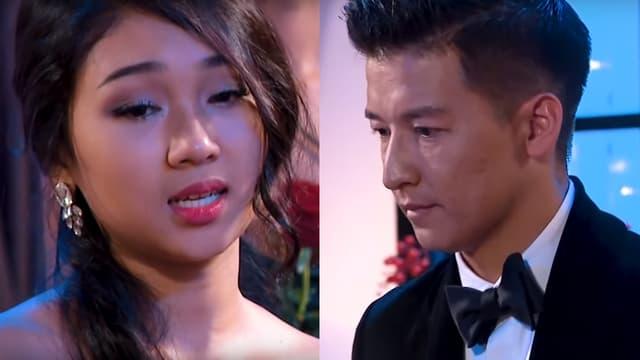 "Minh Thu face à Jean-Marc Nguyen, star du ""Bachelor Vietnam"""