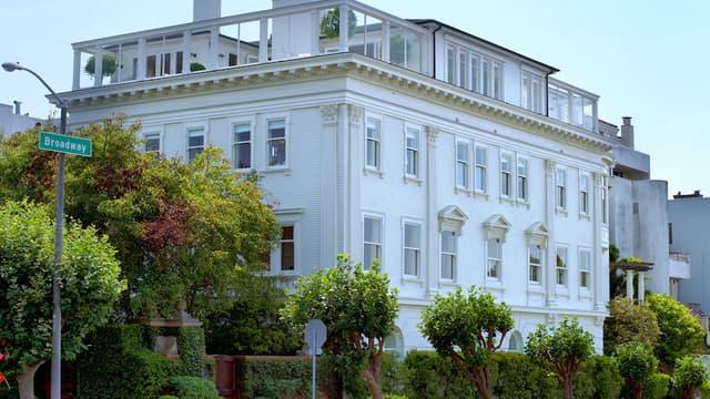 Vue de la maison des Klein, vendue 31 millions de dollars
