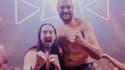 Steve Aoki et Tyson Fury