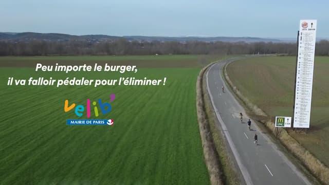 Vélib' rebondit sur le cash McDo vs. Burger King.