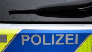 Une voiture de la police allemande (PHOTO D'ILLUSTRATION)