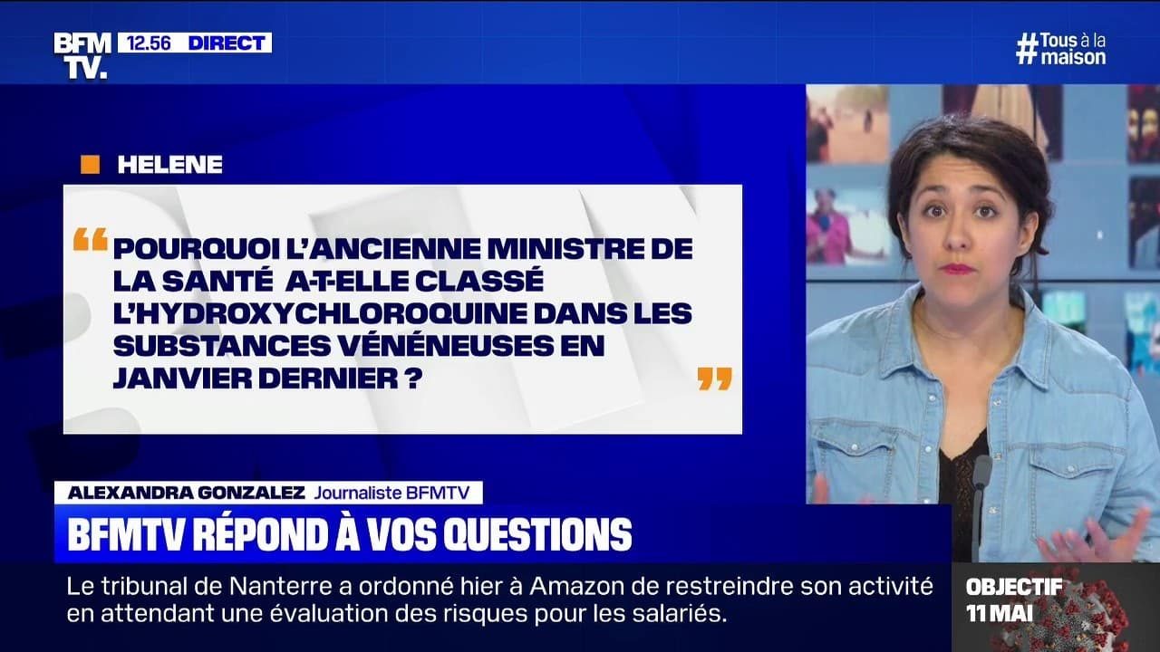 Traîtres et Criminels au pouvoir - Ils ont tous pris l' hydroxychloroquine ! Pourquoi-Agnes-Buzyn-a-t-elle-classe-lhydroxychloroquine-dans-les-substances-veneneuses-BFMTV-repond-a-vos-questions-325299