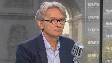 Jean-Claude Mailly, le leader de Force ouvrière, était l'invité de BFMTV, vendredi 23 août.