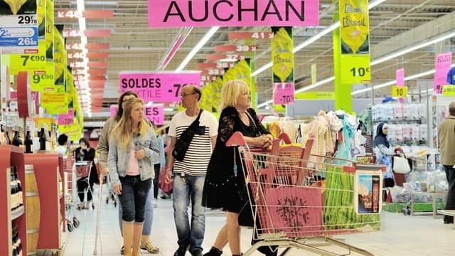 Auchan s'allie avec Intermarché et Metro.