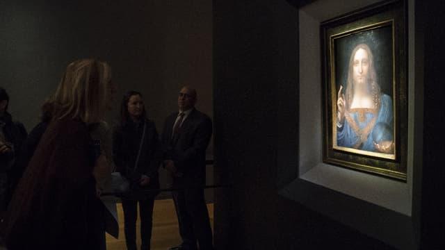 Le tableau sera exposé au Louvre d'Abu Dhabi.