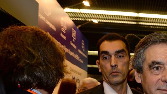 François Fillon fin janvier au salon des entrepreneurs à Paris.