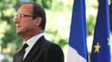 Le président de la République François Hollande, en août 2012.