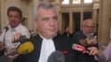 Thierry Herzog, avocat de Nicolas Sarkozy, au palais de justice de Bordeaux le 2 juillet 2013.