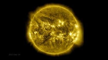 Ce saisissant timelapse retrace les 10 dernières années de vie du Soleil