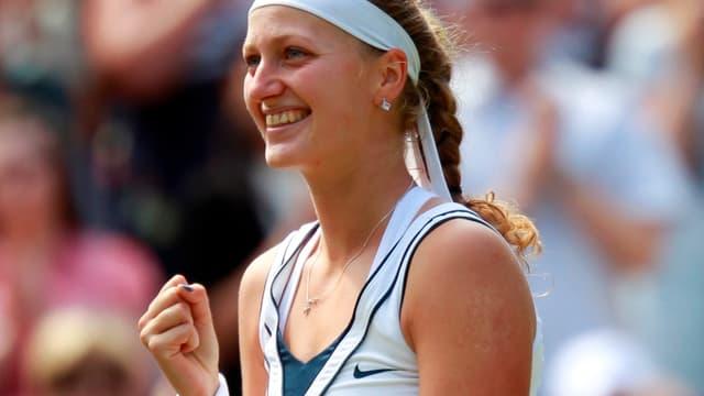Petra Kvitova a remporté son premier tournoi du Grand Chelem à Wimbledon.