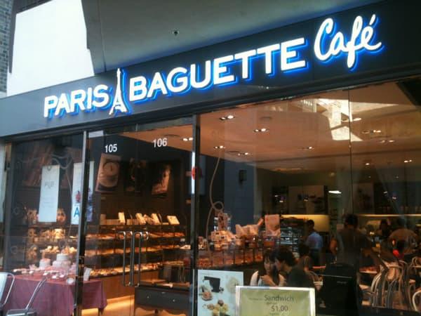 Un magasin Paris Baguette à Los Angeles