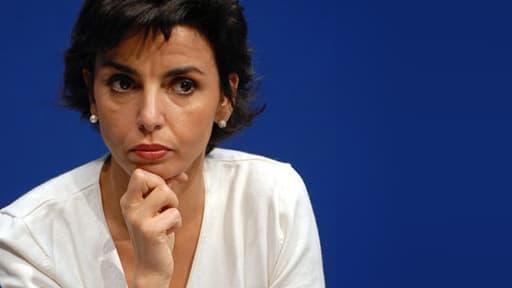 Rachida Dati, candidate à la mairie de Paris pour l'UMP
