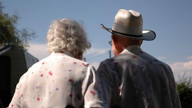Deux seniors (photo d'illustration)