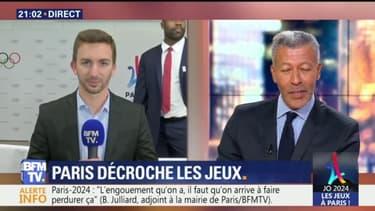 Paris 2024: Teddy Riner s'amuse à perturber le duplex de l'un de nos journalistes