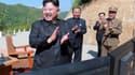 Kim Jong-Un, en juillet dernier.