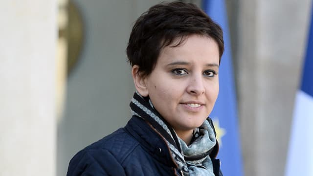 Najat Vallaud-Belkacem, ministre de l'Education nationale