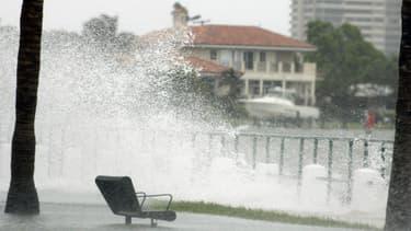 La montée des océans pourrait engloutir de nombreuses villes côtières des Etats-Unis. (image d'illustration)
