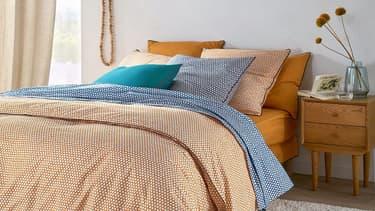 Linge de lit en soldes chez La Redoute