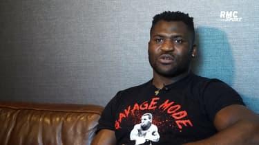 """UFC : """"Gane n'est pas là par hasard"""" affirme Ngannou"""