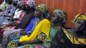 Quelques unes des 57 lycéennes capturées par Boko Haram et ayant réussi à s'échapper, le 2 juin 2014.