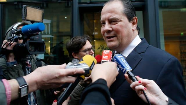 Le Premier secrétaire du Parti socialiste, Jean-Christophe Cambadélis, le 11 avril.