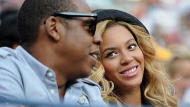 Beyoncé et son mari Jay-Z en 2011 à New York.