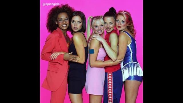 Les célèbres Spice Girls.