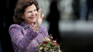La reine Silvia de Suède, le 8 octobre 2016